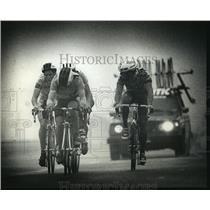 1991 Press Photo Five European Cyclist at the Miller Superweek International