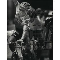 1993 Press Photo Roberto Gaggioli won the PAC Gran Prix Cycling race Friday