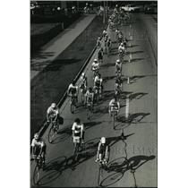 1992 Press Photo Bicyclists ride in the 10th annual American Cancer Society race