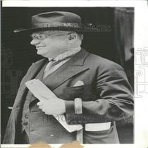 1933 Press Photo Maxim Maximovich Litvinov Russian