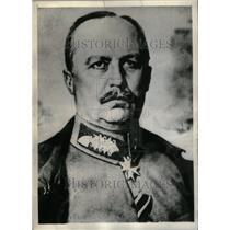 1935 Press Photo General Erich Ludenorff