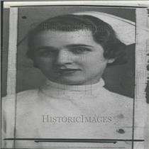 1937 Press Photo Patricia Large Infirmary Head