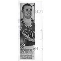 1961 Press Photo Basketball player Paul Arizin quits Philadelphia Warriors