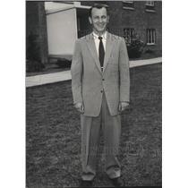 1957 Press Photo University of Idaho head baseball coach, Wayne Anderson