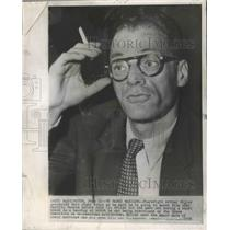 1956 Press Photo Playwright Arthur Miller to Marry Marilyn Monroe - ftx02622
