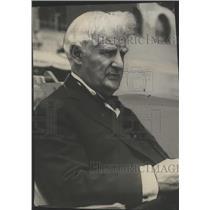 1929 Press Photo David Belasco, World Famous Producer At Atlantic City