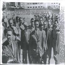 1962 Press Photo Ahmed Ben Bella
