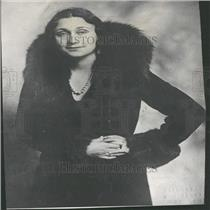 1931 Press Photo Italy politician Dino Grandi's wife - RRY27669