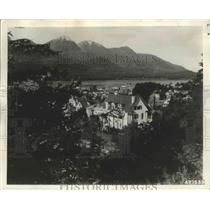 1962 Press Photo Juneau, Alaska Governor's Mansion - ftx01869