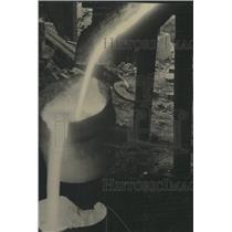 1940 Press Photo Saint Petersburg Iron foundry works