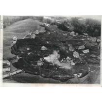 1967 Press Photo Troegstad, Norway Landslide Damage - ftx01976