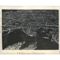 1940 Press Photo Oslo, Norway Aerial View - ftx01983