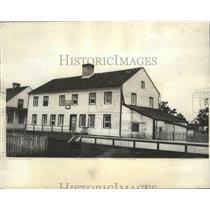 1931 Press Photo Col Charles Lindbergh Home in Canada - ftx02041