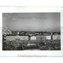 1978 Press Photo Market Squarem South harbor, Helsinki, Finland - ftx02103