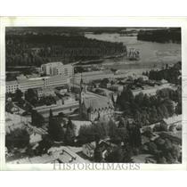 Press Photo Kajaani, Finland Aerial View - ftx02110