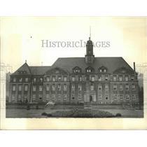 1934 Press Photo Saar Basin, Germany Palace of Justice - ftx02137