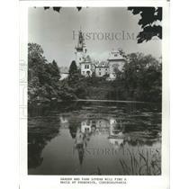 1982 Press Photo Pruhonice, Czechoslovakia - ftx02242