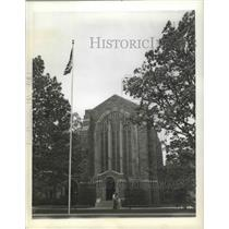 1924 Press Photo Washington Memorial Chapel, Valley Forge, Pennslyvania