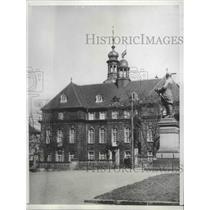 1934 Press Photo Saarbrucken, Germany President Knox Office Residence