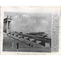 1954 Press Photo Stalingrad, Russia Architecture - ftx02727