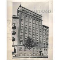 1939 Press Photo Helsinki, Finland Architecture - ftx02757