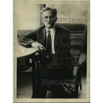 1930 Press Photo Dr Albert A Michelson Chicago U Nobel Prize winner for physics