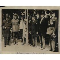 1926 Press Photo St Nazaire Memorial in Paris for US soldiers Adm Gleaves
