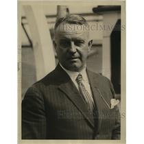 1924 Press Photo Count Erich Von Zeppelin nephew of dirigible builder