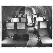 1960 Press Photo Aerotherm Seats Anchored to Under Floor Stringers - ney26464