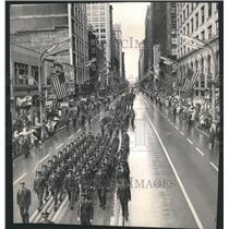 1960 Press Photo Illinois National Guard Parade