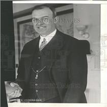1926 Press Photo Commerce Pres W P McCracken
