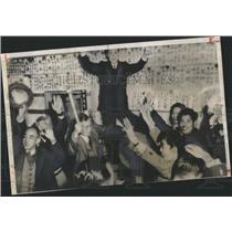 1955 Press Photo Japanese Democratic Party
