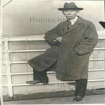 1925 Press Photo Colonel Edward Mandell House