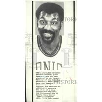 1974 Press Photo Basketball player Archie Clark, traded to Detroit Pistons