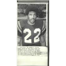 1972 Press Photo Football player Isaac Curtis drafted by Cincinnati Bengals