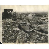 "1928 Press Photo Air view of ""The Eternal City"" - sbz01375"