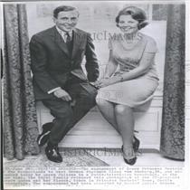 1965 Press Photo Netherlands Princess Beatrix Amsberg