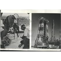 1960Press Photo Pictures from the book  THE MISSILE MEN