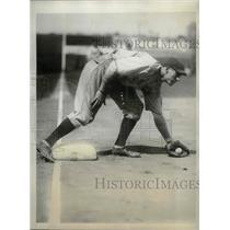 1929 Press Photo Clarence Blair, Chicago Cubs infielder - sbs03021