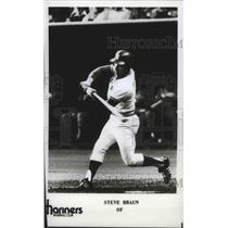 1977 Press Photo Steve Braun of Mariners Baseball Club - sps01301