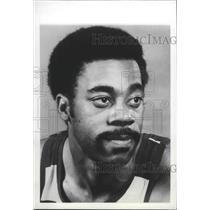 1977 Press Photo Washington Bullets basketball player, Phil Chenier - sps01359