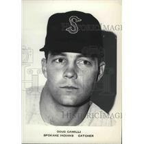1962 Press Photo Doug Camilli, Spokane Indians baseball team catcher - sps01436