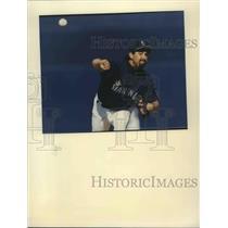 1994 Press Photo Seattle Mariners baseball player, Bobby Ayala - sps01819
