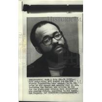 1976 Press Photo Ex-Seattle Supersonics basketball player, Zaid Abdul-Aziz