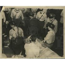1938 Press Photo Disaster at the Praco Mine in Alabama - abnz00377