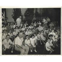 1940 Press Photo Children of the Mercy Home in Birmingham, Alabama - abnz00793
