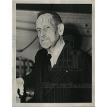 1939 Press Photo New York Poultney Bigelow discusses Hitler NYC - neny06949