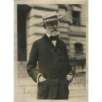 1924 Press Photo Henry Cabot Lodge Grandfather of GOP VP Candidate Senator Lodge