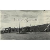 1929 Press Photo Site of New Montgomery Ward Co., Spokane, Washington