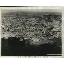 1932 Press Photo Aerial view of Santiago, Cuba-Devastated by Earthquakes